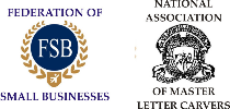 Federation of Small Businesses,National Association of Master Letter Carvers,National Association of Memorial Masons