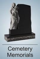 monumental stonemasons Cemetery memorials